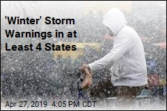 'Winter' Storm Warnings in at Least 4 States