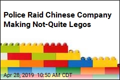 China Says Raided Factory Made Lego Knockoffs