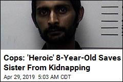 Cops: 'Hero' 8-Year-Old Saves Sister From Kidnapper