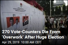 Voting Was Peaceful in Indonesia. 270 People Still Died