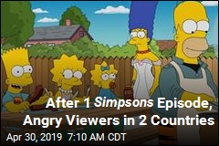 The Simpsons Manages to Tick Off 2 Countries