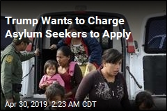 Trump Wants to Charge Asylum Seekers to Apply