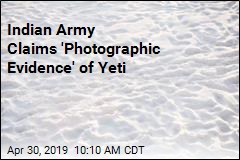 Indian Army Claims 'Photographic Evidence' of Yeti