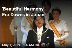 'Beautiful Harmony' Era Dawns in Japan