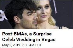 'Elvis' Marries Joe Jonas and Sophie Turner in Vegas