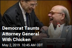 Democrat Taunts Attorney General With Chicken