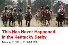 This Has Never Happened in the Kentucky Derby