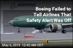 Boeing Failed to Tell Airlines That Safety Alert Was Off