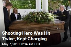 Shooting Hero Was Hit Twice, Kept Charging