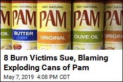 8 Burn Victims Sue Over Pam Cans That Allegedly Exploded