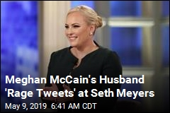 Meghan McCain's Husband Sorry for 'Rage Tweets'