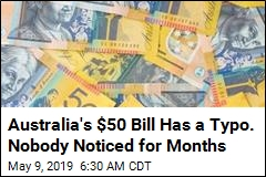 Australia's Most Popular Banknote Has a Mistake