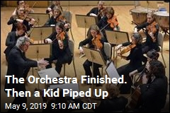 Orchestra Wants to Find Kid Whose 'Wow!' Charmed Them