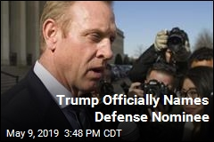 Trump Officially Names Defense Nominee