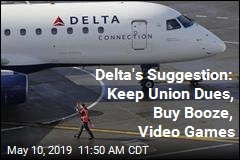 Delta to Workers: Spend Money on Video Games, Not Union Dues