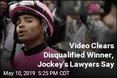 Video Clears Maximum Security's Jockey, Lawyers Say