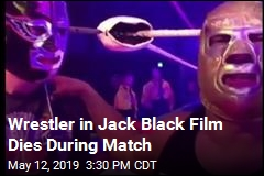 Wrestler in Jack Black Film Dies During Match