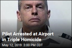 Pilot Arrested at Airport in Triple Homicide