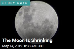 The Moon Is Shrinking
