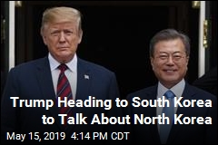Trump Heading to South Korea to Talk About North Korea