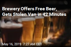 After Offer of Free Beer, Stolen Van Found 'in Record Time'