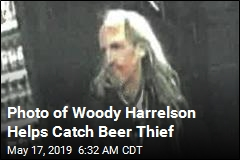 Cops Use Woody Harrelson Pic to Find Beer Thief