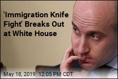 Stephen Miller Runs Into 'Immigation Knife Fight'