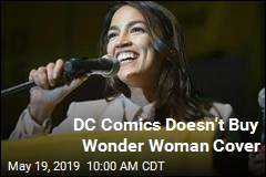 DC Comics Doesn't Buy Wonder Woman Cover