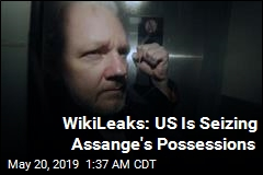 US Prosecutors 'Helping Themselves' to Assange's Stuff