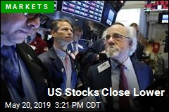 US Stocks Close Lower