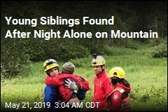 'Miraculous Rescue' for 2 Kids Who Spent Night Alone on Mountain