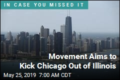 Movement Aims to Kick Chicago Out of Illinois