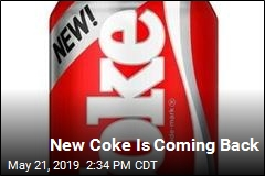 New Coke Is Coming Back