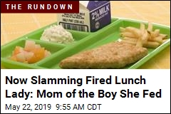Mom: Fired Lunch Lady Tried to Drag My Son Into Cover-Up