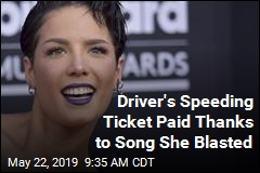 After Fan Gets Speeding Ticket, Halsey Swoops In