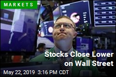 Stocks Close Lower on Wall Street
