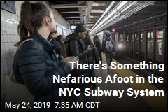 There's Something Nefarious Afoot in the NYC Subway System