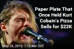 Paper Plate That Once Held Kurt Cobain's Pizza Sells for $22K