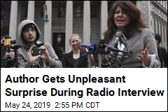 Author Gets Unpleasant Surprise During Radio Interview