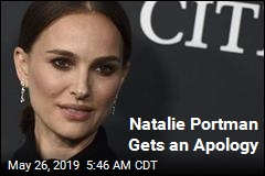 Natalie Portman Gets an Apology