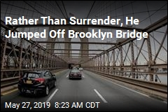 Fleeing Suspect Leaps Off Brooklyn Bridge