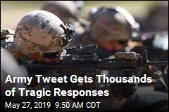 Army Tweet Gets Thousands of Tragic Responses