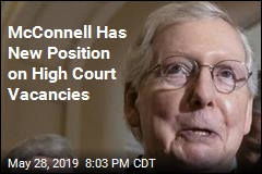 McConnell Has New Position on High Court Vacancies