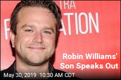 Robin Williams' Son Speaks Out in Suicide Awareness Campaign