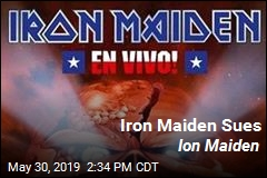 Iron Maiden Sues Ion Maiden