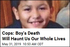 Cops: Boy's Death Will Haunt Us Our Whole Lives