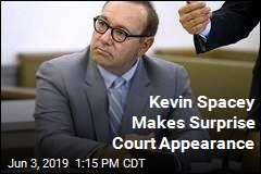 Kevin Spacey Makes Surprise Court Appearance