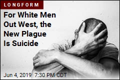 For White Men Out West, the New Plague Is Suicide