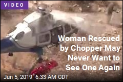 This Chopper Rescue Spun Out of Control, Literally