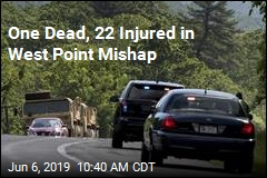 One Dead, 22 Injured in West Point Mishap
